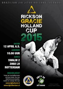 Rickson Gracie Cup 2015 flyer A5 mrt15
